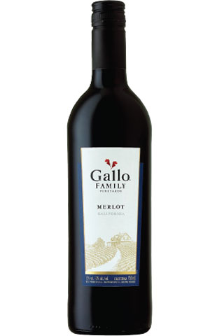 L Hh004 Gallo Famvyds Merlot 750ml From California Red Wine House